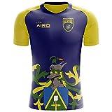 Airo Sportswear 2018-2019 Pitcairn Islands Home Concept Football Soccer T-Shirt Trikot