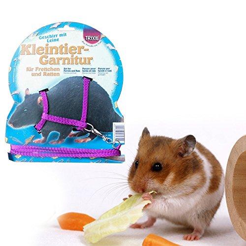 Kicode Hamster Cage d'animal familier Nylon réglable...