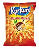 Kurkure Snacks, Masala Munch, 100g with 25g extra