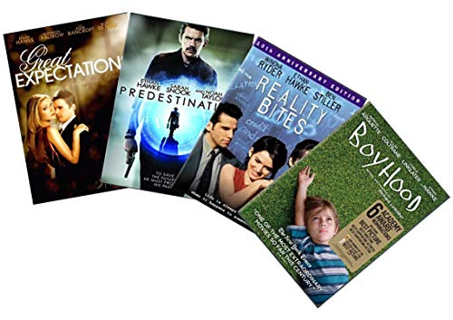Ultimate Ethan Hawke 4-Moive DVD Collection: Boyhood / Great Expectations / Reality Bites / Predestination