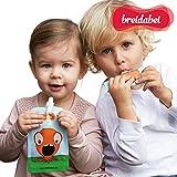 1 Stk. Quetschbeutel Wiederverwendbar I Quetschies Baby Brei & Nahrung - BPA frei I Babybrei Behälter auslaufsicher zum Einfrieren & Unterwegs I 130ml