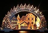 3D-Räucher-Schwibbogen Weihnachtsbäckerei