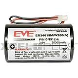 Visonic Powermax Bell Box Siren Battery for MCS-730, MCS-710, 0-9912-K