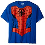 Best Mad Engine Mens Costumes - Marvel Men's Spider-Man Costume T-Shirt, Royal, 2XL Review