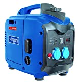Scheppach Inverter-Stromerzeuger SG2000, Stromgenerator für Haushalt und Elektrowerkzeuge, Notstromaggregat bei Stromausfällen, 4 Takt-Benzinmotor, blau/silber/schwarz, 5906208901