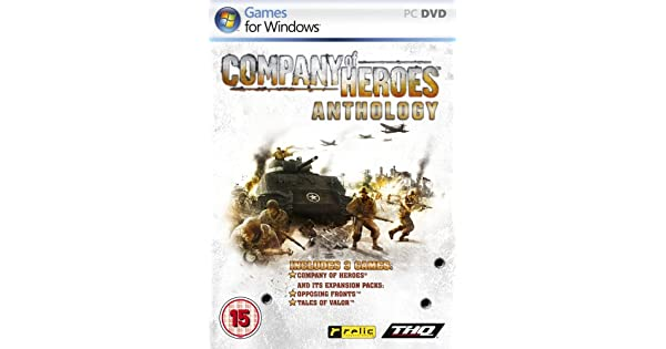 cd key company of heroes anthology