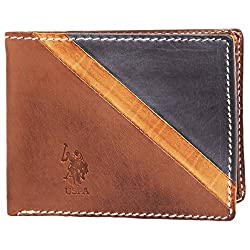 U.S Polo Association Brown Mens Wallet (USAW0545)