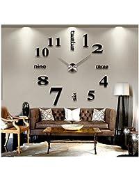 5Five 3D DIY reloj de pared digital con DIY números de la decoración de la decoración