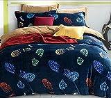 Grafiken 3D, Stereo, vier Sets, Bettwäsche, Bettbezug Decke, Landschaft 3D, vier-teiliges Kostüm,, 1,8 m
