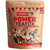 Kayos Power Teatox - Detox Green Tea for Runner, Cyclists and Athletes