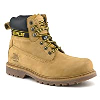 Caterpillar CAT Holton SB Honey Steel Toe Cap Safety Boots Work Boots
