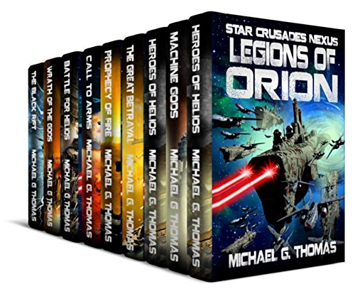 Star Crusades: Nexus - Complete Series Box Set (Books 1 - 9)