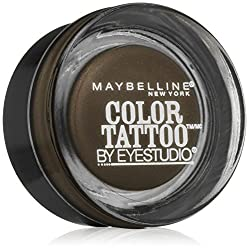 Maybeline New York Eye Studio Colour Tattoo Leather 24 HR Cream Gel Eyeshadow, 0.14oz (Deep Forest)