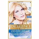 L'Oréal Paris Excellence Coloration Pure Blond 04 - Ultra helles goldenes Blond (1er Pack)