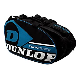 Paddle Tennis Racquet Bag Dunlop Tour Intro Black/Blue Review 2018 by Dunlop