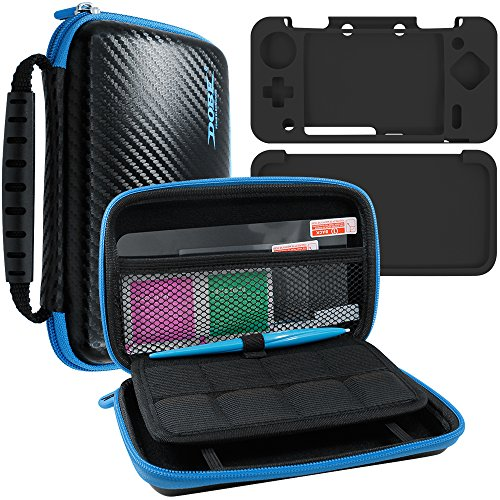 4 en 1 Kit de Protección para New Nintendo 2DS XL