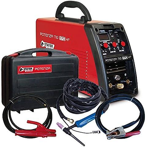 Stayer Welding - Potenza Tig 170 Hf Inverter Soldadura Tig 170 (60%)A 4Mm 5Kg Kva5