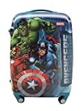 #9: CLOUD 9 16 Inch Boys Famous Cartoon Character Print Luggage Trolley Bag for Kids - Multi Color