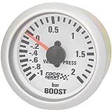 "Sumex Gaug701 - Manómetro Presión Turbo ""Race Sport"", Diámetro 52 mm, 12V"