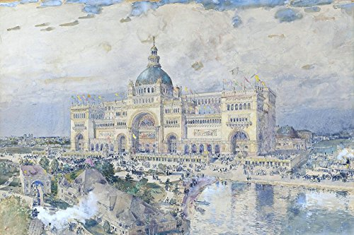 Das Museum Outlet-A View Of The World 's Columbian Expo, Chicago, 1893-Poster (61x 81,3cm)
