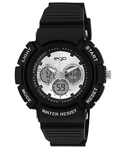 514CQLjGlYL - E 34881PPAN Ego by Maxima Digital Silver Mens watch