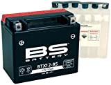 Xfight-Parts Batterie BTX12-BS 12V 10Ah 0,6 Liter DIN 51012 MTF Wartungsfrei 151x131x88mm ALG-YU-065109 für Gilera Nexus 250 SP