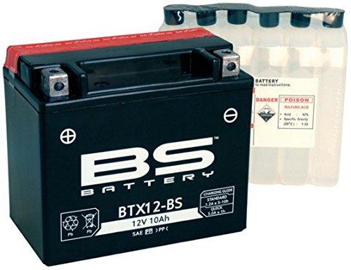 xfight de parts de btx12 de pile BS 12 V 10 Ah 0,6 L DIN 51012 MTF sans entretien 151 x 131 x 88 mm ALG-065109 Yu