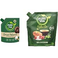 Pure Via - Spécial Pâtisserie - Alternative au sucre d'origine naturelle avec de la Gomme d'Acacia, 1 x 380 g & Doypack…