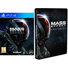Mass Effect Andromeda + Steelbook Esclusiva Amazon - PlayStation 4
