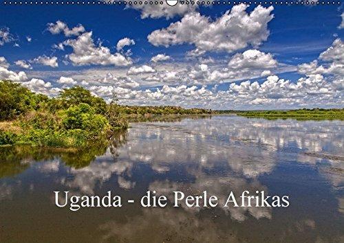 Preisvergleich Produktbild Uganda - die Perle Afrikas (Wandkalender 2016 DIN A2 quer): Ein Streifzug durch Uganda, ein wunderschönes Land Westafrikas (Monatskalender, 14 Seiten) (CALVENDO Orte)