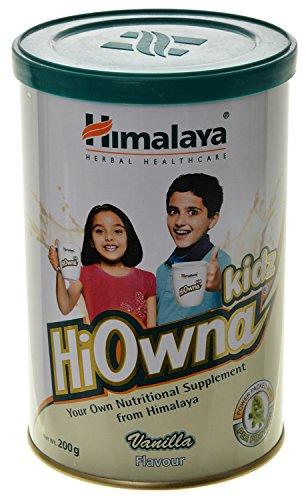 Himalaya Hiowna Kids Powder - 200 g (Vanilla)
