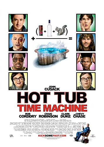 Hot Tub Time Machine Movie Poster (68,58 x 101,60 cm) Hot Tub Time Machine-poster
