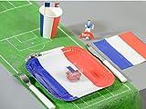 Tischläufer Fussballfeld grün, 30 cm, 5 m Rolle, Fußball Party - 2