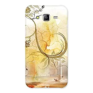 Stylish Nature Pattern Multicolor Back Case Cover for Samsung Galaxy J5