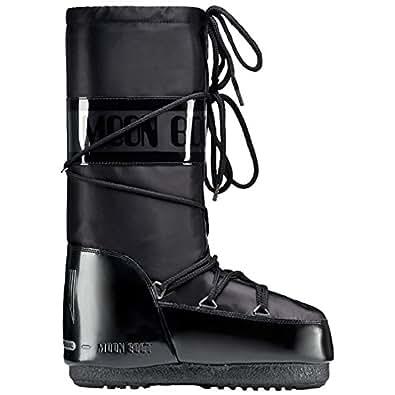 Moon Boot by Tecnica Glance 14016800-003 Unisex Winterstiefel, black, Gr. 39-41 EU / 6-7.5 UK