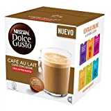 Dolce Gusto Cafe au lait DECAF-Pack of 3