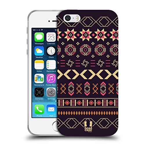 Head Case Designs Balkan Folk Multikulturelle Ethnische Drucke Soft Gel Hülle für Apple iPhone 5 / 5s / SE