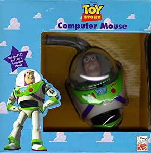 Toy Story Buzz 3-D Computer Mouse