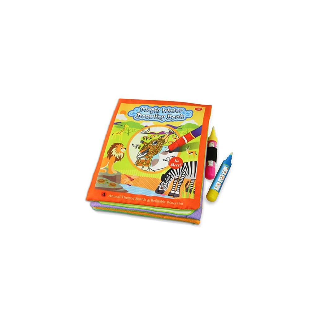 Modaka Magic Water Drawing Book Libro da colorare Doodle Magic Pen Pittura Regalo per Bambini Bambini Oceano B