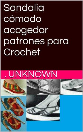 Sandalia cómodo acogedor patrones para Crochet por Unknown