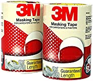 3M General Purpose Masking Tape, 24 mm x 30 m (1 Pack of 6 Rolls)