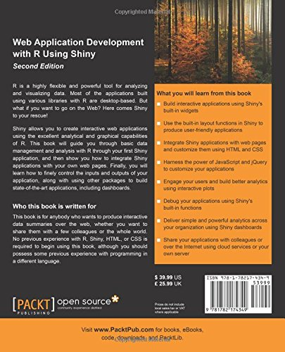 Web Application Development with R Using Shiny -