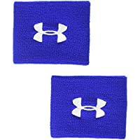 Under Armour UA Performance Wristbands Banda de Sudor, Hombre, Azul (400), One Size