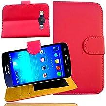 citycase–Carcasa Samsung Galaxy A5–funda de protección Folio cartera de piel sintética para SmartPhone Galaxi a 5Dual SIM Duos 4g Gold plata Silver oro