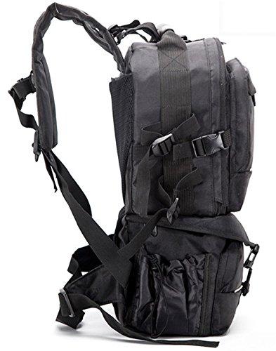 Z&HXborse Fotografia fotocamera reflex borsa a tracolla multiuso impermeabile moda casual , black Black
