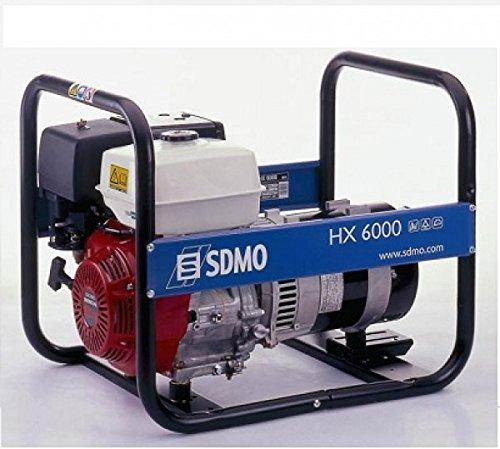 SDMO Stromerzeuger INTENS HX 6000 C Honda Motor 6,0 kW (Portable Honda Generator)