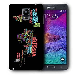 Snoogg Waterdrops Printed Protective Phone Back Case Cover For Samsung Galaxy NOTE 4 / NOTE IIII
