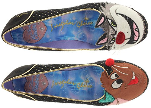 Irregular Choice - Lucifer & Gus, Scarpe col tacco Donna Black