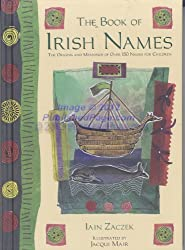 The Book of Irish Names The Origins and Meaning of Over 150 Names for Children