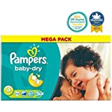 Pampers Baby-Sec Case Couches Taille De 3 Méga - 104 Couches -